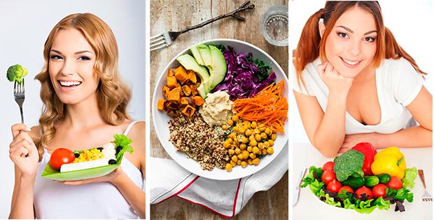 Вегетарианская диета для похудения. Разнообразие без мяса