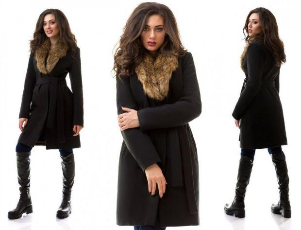 С чем носить пальто с меховым воротником? Шикарно и элегантно