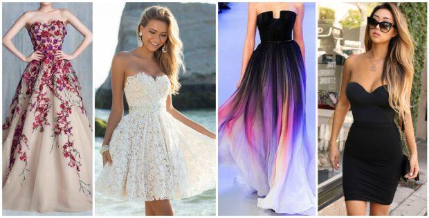 С чем носить платье бюстье? Подчеркиваем и выделяем грудь