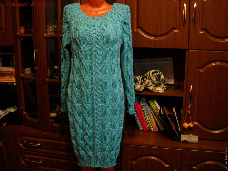 c7b4b9ee629 С чем носить вязаное платье  Правильные комбинации » EvaGirl.ru ...